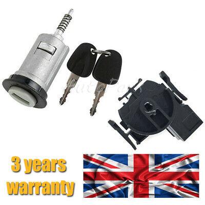 Ignition Switch + Barrel + 2 Keys For VAUXHALL  COMBO MERIVA CORSA TIGRA 0913694