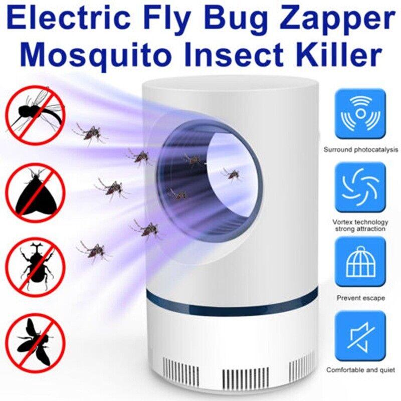 Hot Advanced Mosquito Exterminator Lamp – Suction Fan, No Zapper, Child Safe !!!