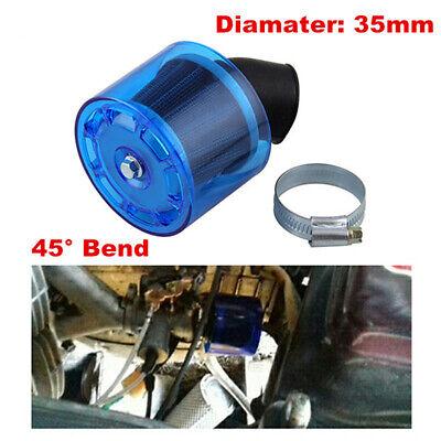 35mm Bent Angle Air Filter Cleaner For 50cc 110cc PIT Pocket Quad Dirt Bike ATV