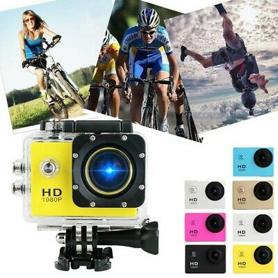 1080P Ultra HD Sport Action Camera DVR DV Helmet Cam Video C
