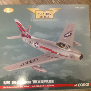 Corgi die cast model airplane