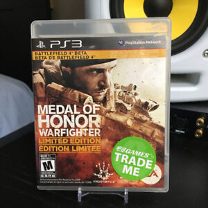 PS3 - Medal Of Honor Warfighter: $5