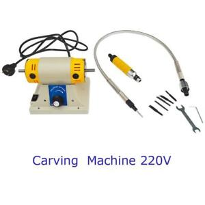 Used Electric Carving Machine Woodworking Carving Hand Tools 220V Industrial Supply 202110 Second Hand