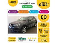 Volkswagen Touareg FROM £104 PER WEEK!