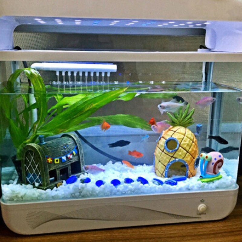 Spongebob Squarepants Pineapple House Fish Tank Aquarium