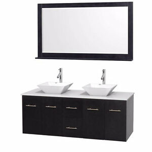 """60"""" Wall Mounted Vanity *INCLUDES EVERYTHING*"""