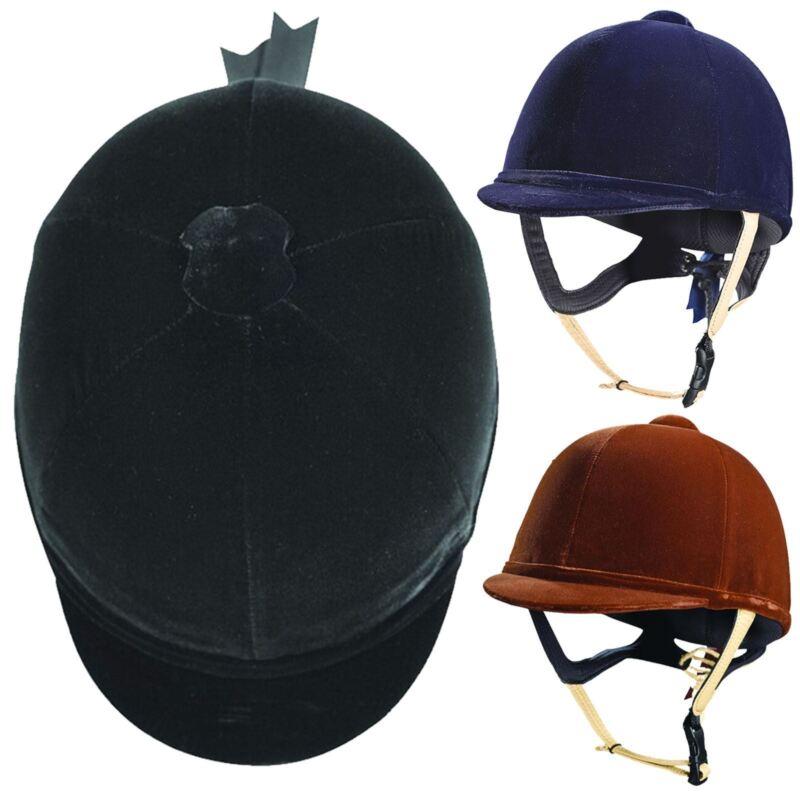 Caldene CD4998 Tuta PAS015 Soft Padded Leather & Quality Velvet Horse Riding Hat