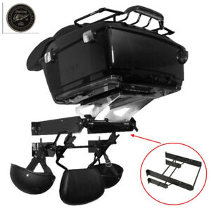 tour pack Wall Mount Storage Rack For harley  Touring