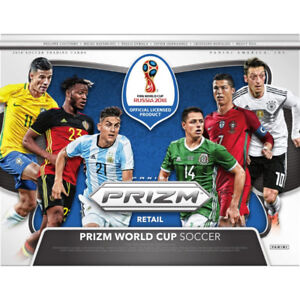 27b9af74599 Panini FIFA World Cup Russia 2018 Prizm Soccer Cards Box
