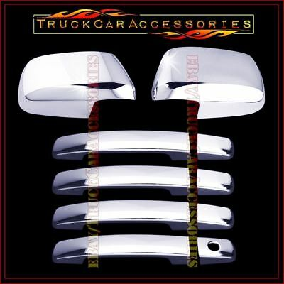 For Nissan Frontier 2005 15 16 2017 Chrome Covers Set Mirrors 4 Doors W O Psk Sk