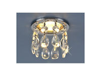 High Quality 2055 Mains Celling Downlights Fixed Tilt Crystal Strotskis Light