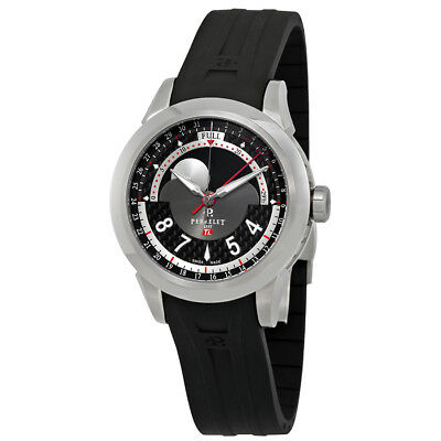 Perrelet Dark Grey Dial Automatic Mens Moonphase Watch A5000/1