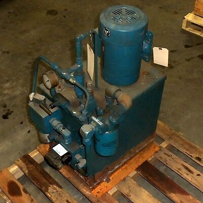 Vickers 2hp Hydraulic Pump System