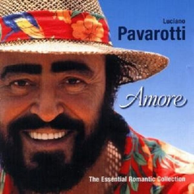 """LUCIANO PAVAROTTI """"AMORE SONG COLLECTION"""" 2 CD NEU"""