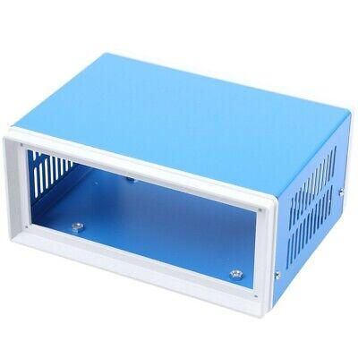 6.7 X 5.1 X 3.1 Blue Metal Enclosure Project Case Diy Junction Box Y8b9