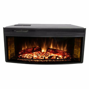 Muskoka 43 inch curved electric fireplace insert *still in box