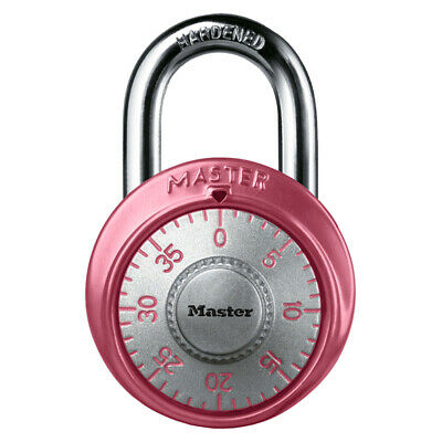 Master Lock 1530dpnk Combination Padlock 1-78 Pink Breast Cancer Awareness