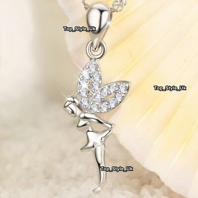 XMAS GIFTS FOR HER Tinkerbell Necklace Sister Women Girlfriend Mother Girls Z7