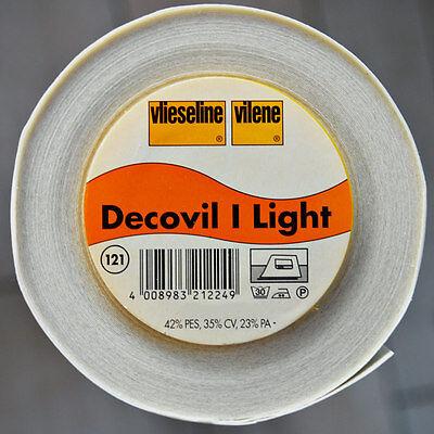 Decovil I Light aufbügelbares Volumenvlies Freudenberg 90cm breit Vlieseline