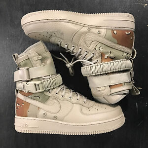 Special field Air Force 1 sf af1 desert camo size 10