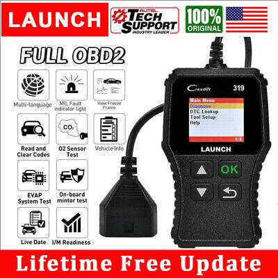 LAUNCH CR319 OBD OBD2 Engine Universal Car Code Reader Scanner Diagnostic