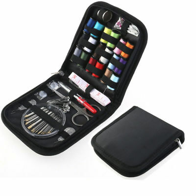 58Pcs Home Travel Thread Threader Needle Tape Measure Scissor Sewing Kit NEW US