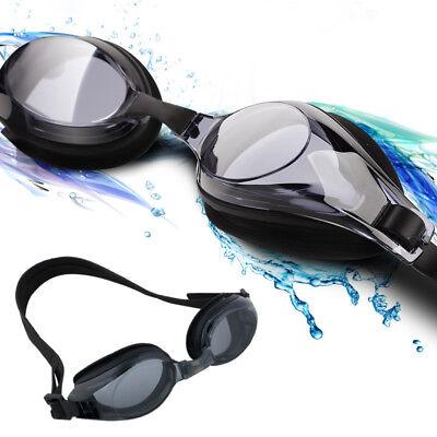 -1.5 BIS -7.0 Anti Fog Sehstärke Schwimmbrille Brille mit Getönten Myopie-Linsen