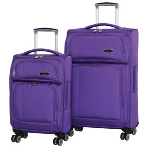 IT Luggage Edmonton 2Pc 8-Wheel SoftSide Luggage--NEW in box