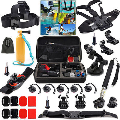 27 in1 Camera Accessories Bundle Kit for GoPro Hero 5 4 Black Session 3+ 3 SJCAM