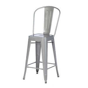 Tolix Style Industrial Bar Stool Metal Barstool Bar Chair Modern