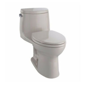TOTO MS604114CEFG UltraMax II One Piece Elongated Toilet Bone