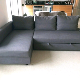 Bargain! Ikea friheten corner sofa bed local delivery available to