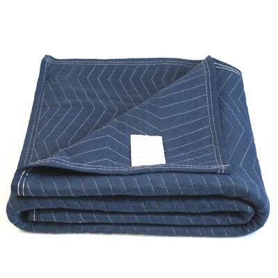 80x72in Deluxe Pro 45lbdz Durable Moving Blanket Quilted Shipping Furniture Pad
