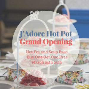 Hot Pot Buy One Get One Free - Jadore Grand Opening