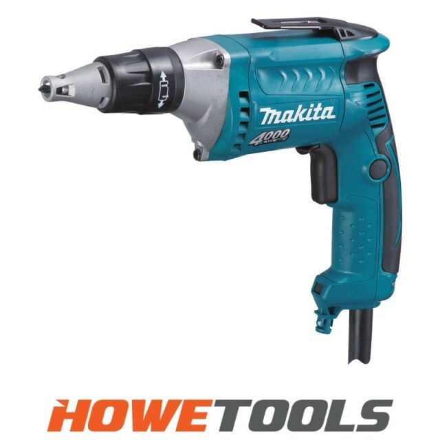 "MAKITA FS4300 110v Dry wall screwdriver 1/4"" hex drive"
