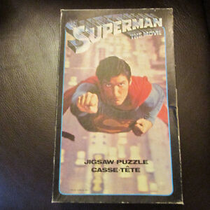 SUPERMAN THE MOVIE CASSE TETE VINTAGE 1978 DC COMICS APC