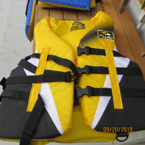 PAIR OF LIFE JACKETS