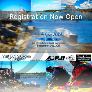 Bay of Fundy Sea Kayak Symposium 2019