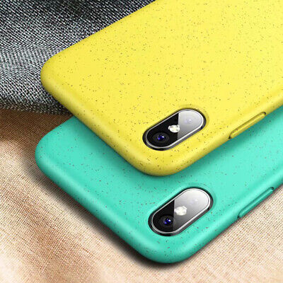 Matte Silicone Protective Slim Phone Case Cover Fits iPhone XS Max XR 7 8 Plus - Protective Matte