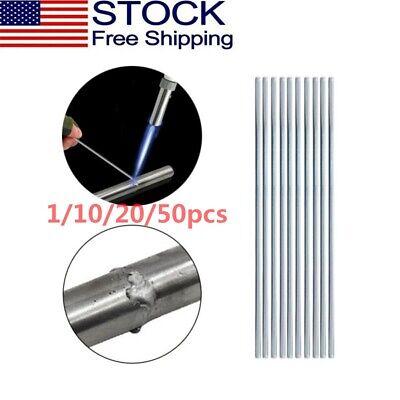 1-50 Pcs Low Temperature Aluminum Welding Wire Flux Brazing Repair Solder Rod Us