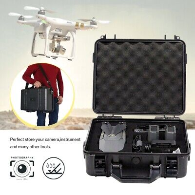Protective Equipment Hard Carry Case Plastic Box Camera Travel Protector 2 Sizes