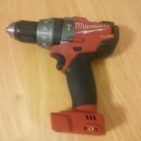 "MILWAUKEE 18  VOLT BRUSHLESS 1/2"" HAMMER DRILL/DRIVER-BARE TOOL"