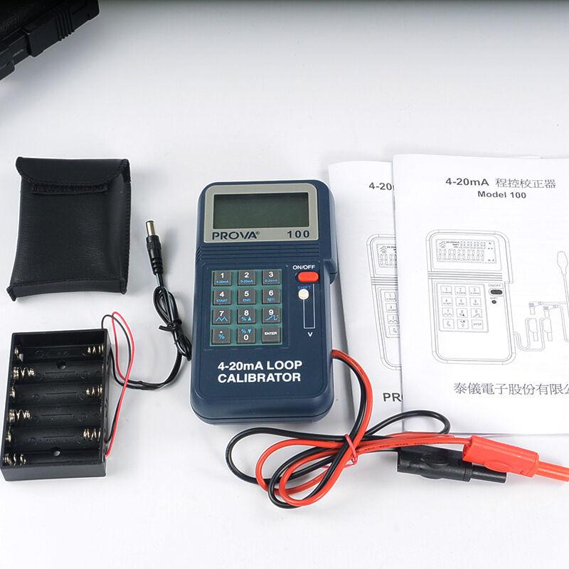 PROVA-100 Process loop Calibrator 4-20 mA Brand New TES Meter PROVA-100