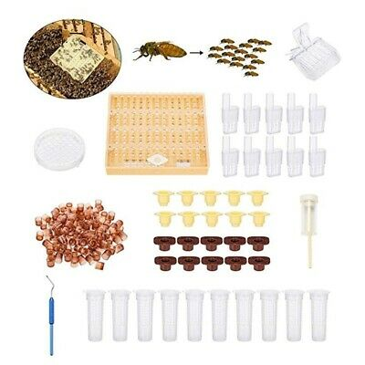 Bee Queen Rearing Equipment Starter Kit Set Complete Cup Cell Clip Beekeeping