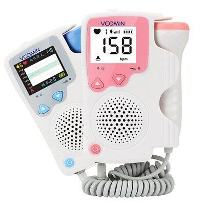 Digital Graph Fetal Heart Meter Fetal Doppler Lcd Ultrasonic Fhr