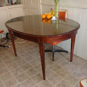 kitchen or dining room table with glass top delivery available