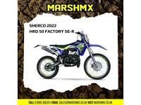 Sherco 2022 HRD 50cc Factory SE-R - Nil Deposit Finance Available
