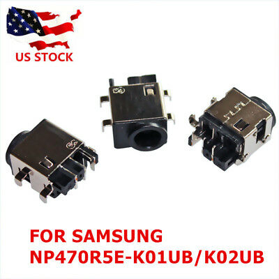 DC AC POWER JACK SOCKET CONNECTOR PORT SAMSUNG NP470R5E-K01UB NP470R5E-K02UB (Ac Power Port)
