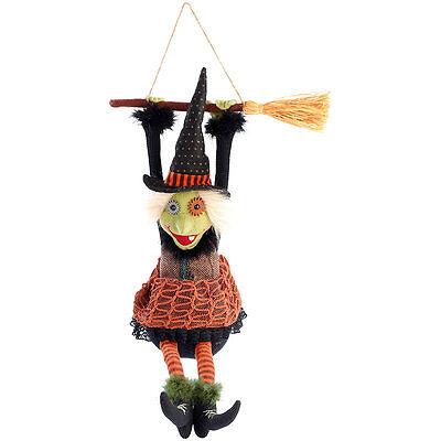 nde und mit Beinen ausschlagende Hexe Morgana (Hexe Beine Dekoration)