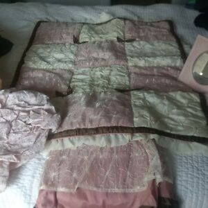 Pretty Baby Bedding - Pink and Cream